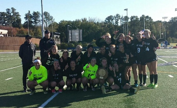 Women's Soccer Wins NJCAA Region 10 Tournament