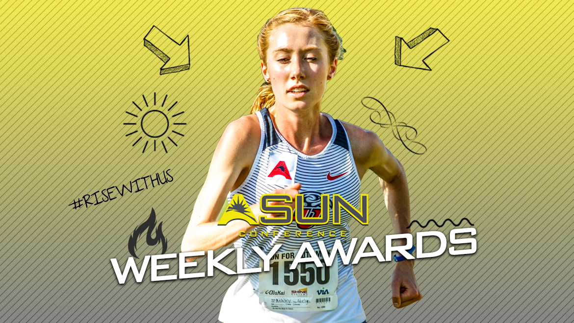 Liberty's Ackley Sweeps First Women's #ASUNXC Weekly Awards of 2019