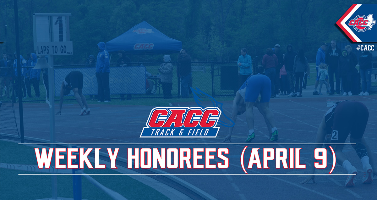 CACC Track & Field Weekly Honorees (April 9)