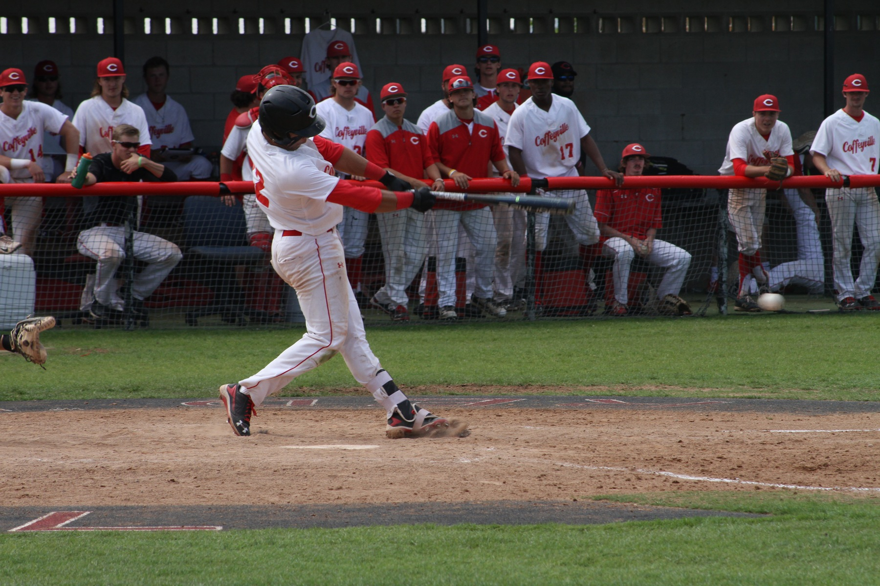Red Raven's Bats Come Alive, Take Two From Highland, 8-4 & 14-2