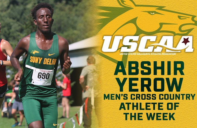 Yerow Honored USCAA Athlete of the Week
