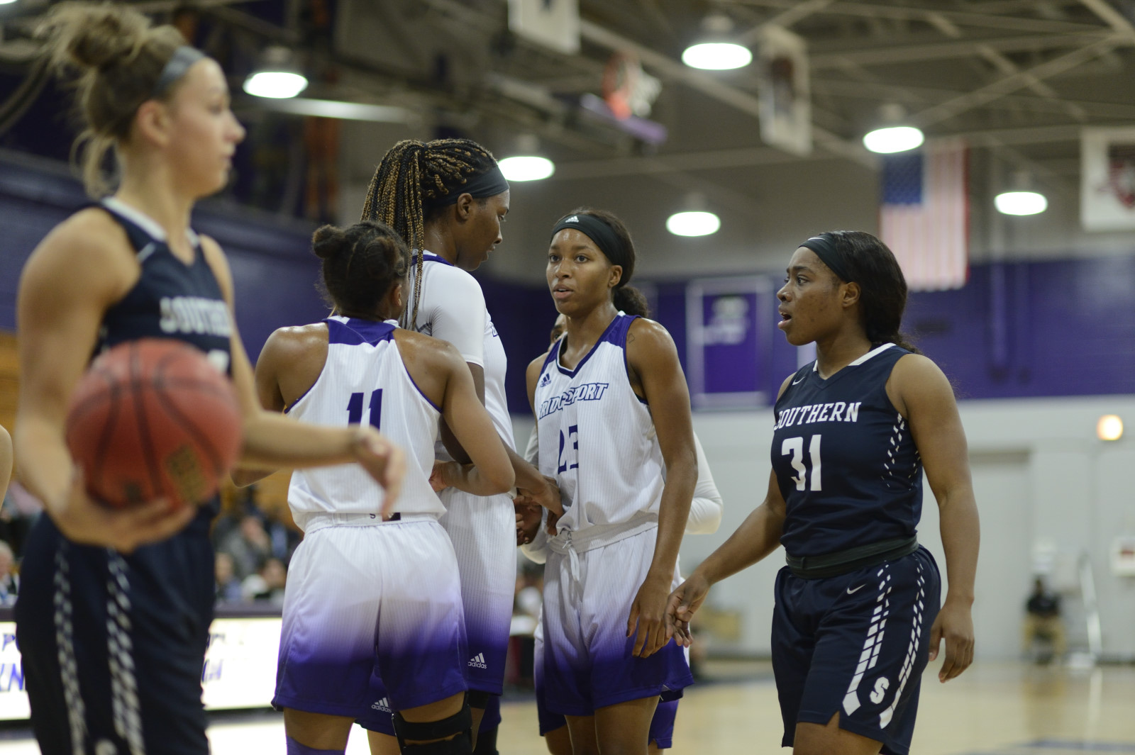 Purple Knights Wrap Up Pre-Holiday Women's Hoops Schedule With A 69-57 Loss At Merrimack