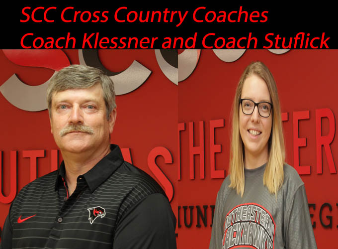 Klesner, Stuflick Tapped to Lead Men's, Women's Cross Country Teams