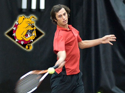 Senior Ahmet Demir & the Bulldogs are at home this weekend (FSU Photo Services)