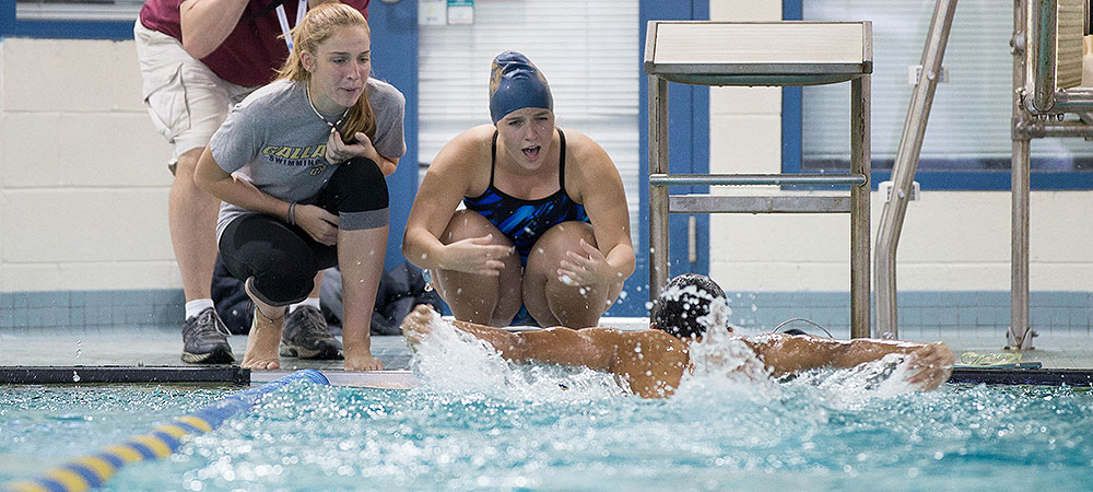 Gallaudet swim teams prepare for 2015 NEAC championships at SUNY Cobleskill this weekend