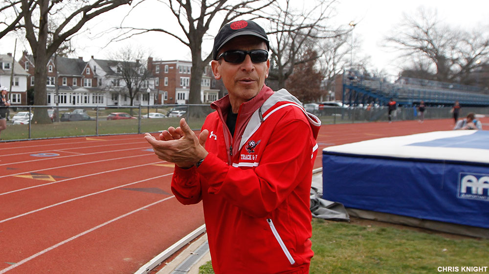 Nichter Named CC Outdoor T&F Coach of the Year