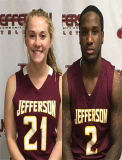 Amy Holland and Herby Plaisimond Co-Athletes of the Week