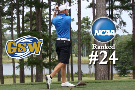 GSW golfers ranked 24th in D-II
