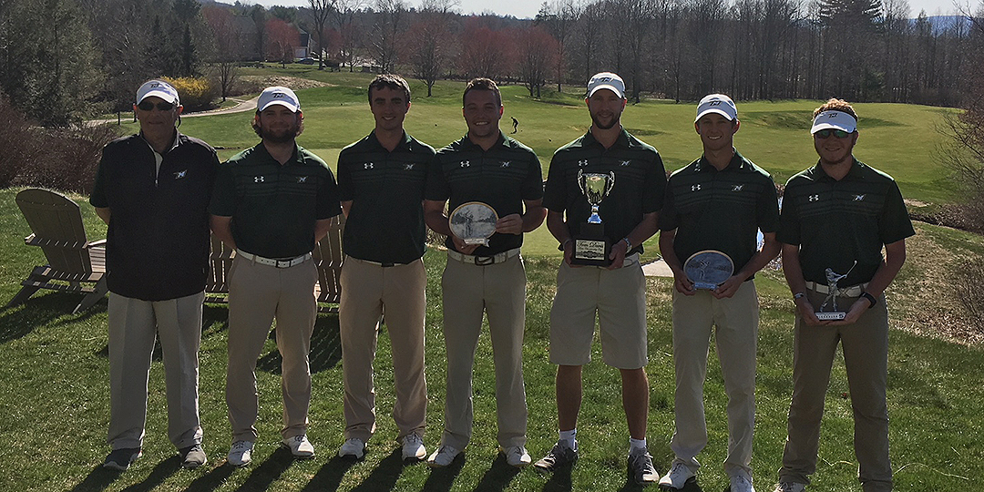 The Green Terror won the Glenmaura National Collegiate Invitational by 25 strokes. Photo courtesy of Scranton Athletics Communication