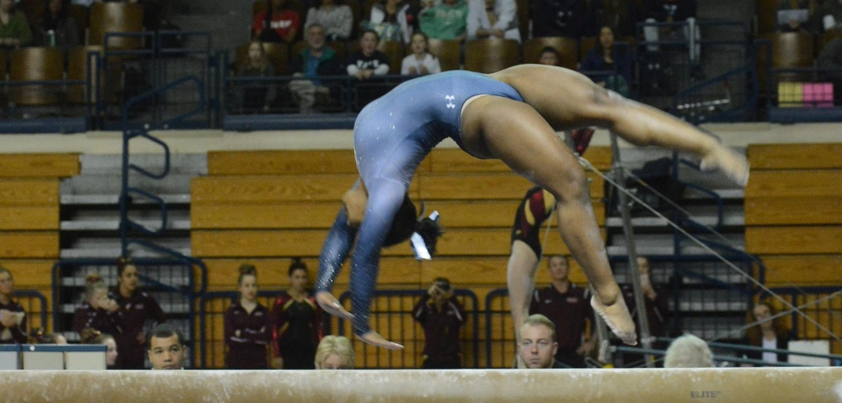 Yale Scores Big on Vault at New Hampshire