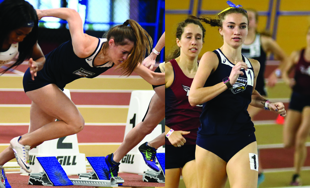 2017-18 Emory Women's Indoor Track & Field Season Recap