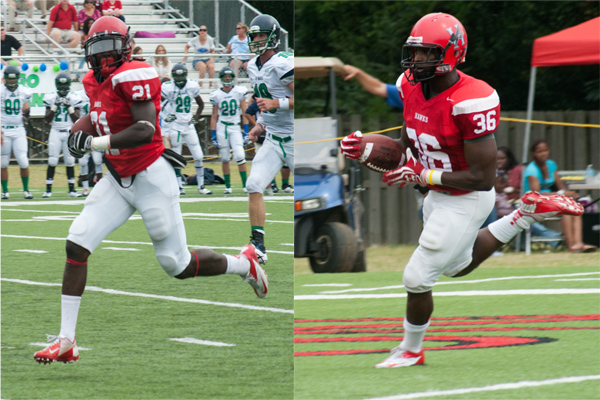 Defensive touchdowns highlight 24th-ranked Huntingdon's homecoming win over Ave Maria
