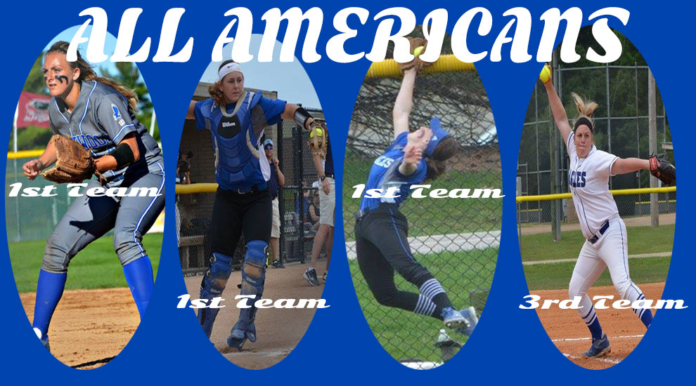 Photo for 4 Eagles Named NJCAA Softball All-Americans