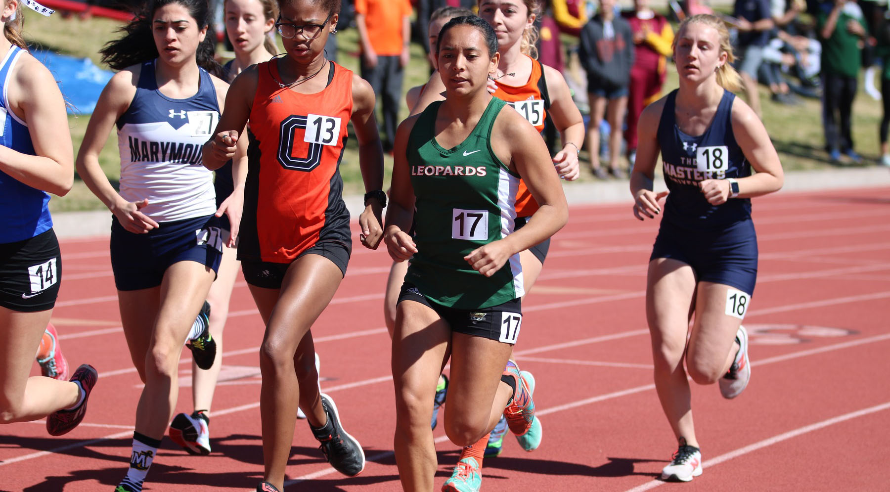 Track and Field compete at Rossi Relays