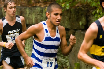Vega leads men's cross-country to runner-up finish at UAlbany