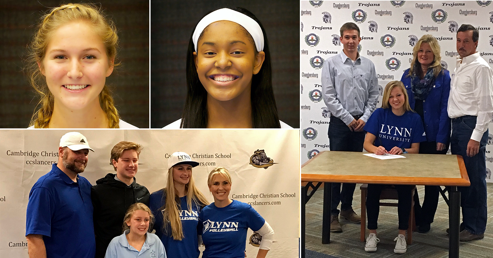 Volleyball Signs Four to 2017 Squad