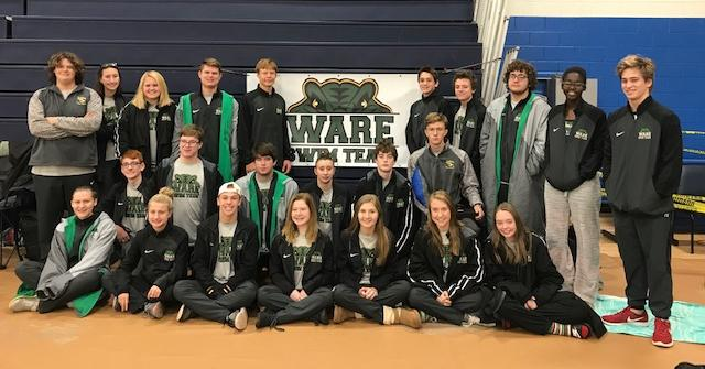 Ware Swim Team Competes in 16th Annual Trojan Invitational