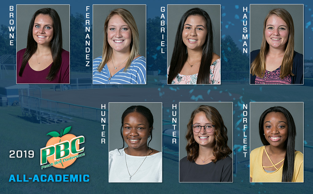 Seven From Softball Named PBC All-Academic