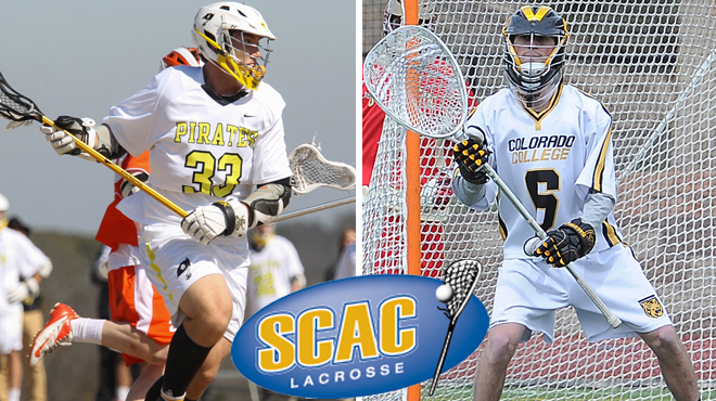 Southwestern's Downing; Colorado College's Murphy Earn SCAC Men's Lacrosse Players of the Week