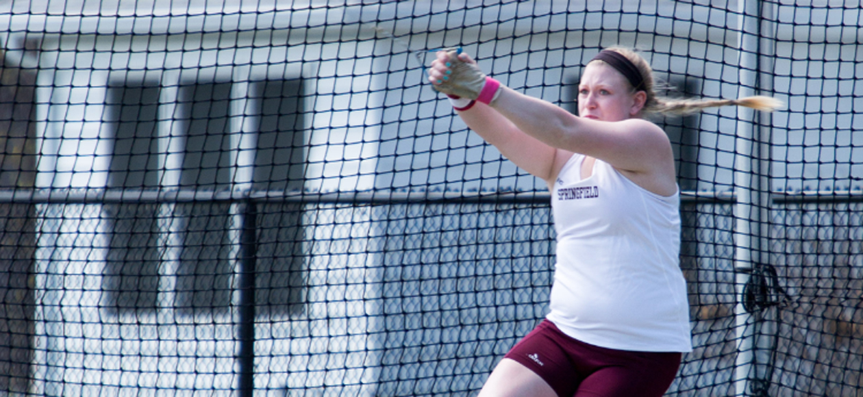 Markos Wins Hammer Throw as Women's Track and Field Places Ninth at ECAC Championships