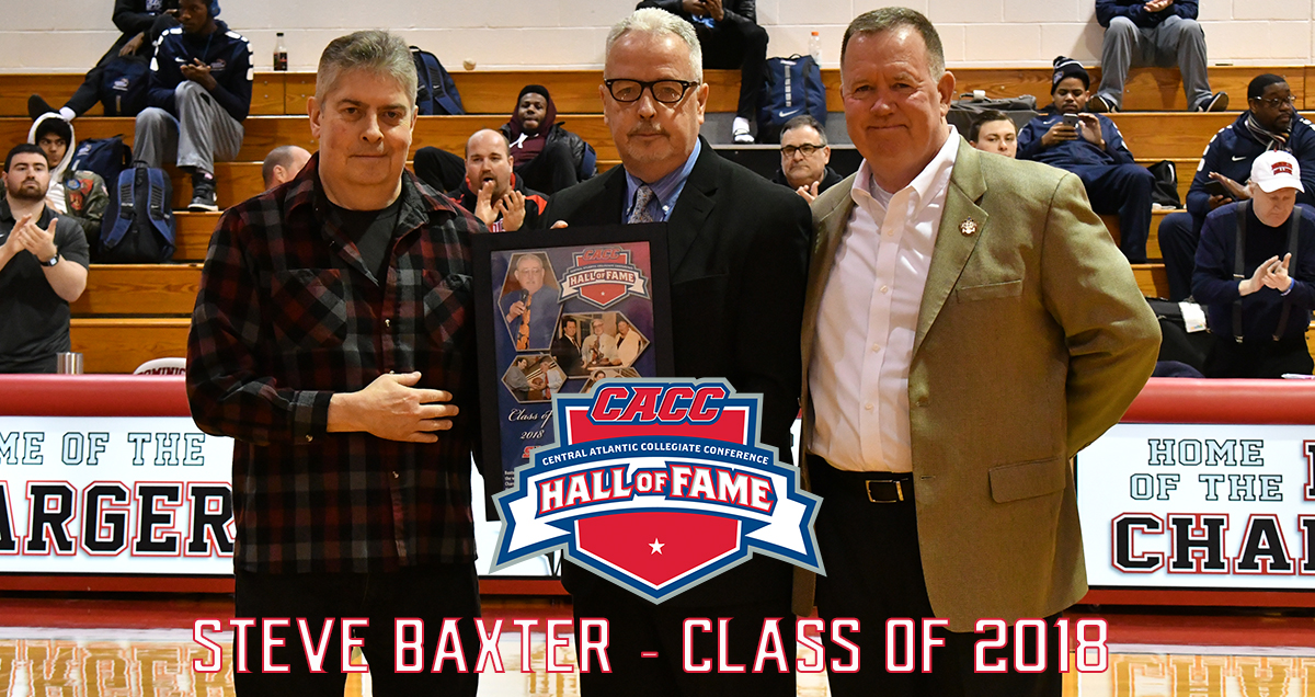 DOMINICAN'S STEVE BAXTER OFFICIALLY INDUCTED INTO CACC HALL OF FAME (CLASS OF 2018)
