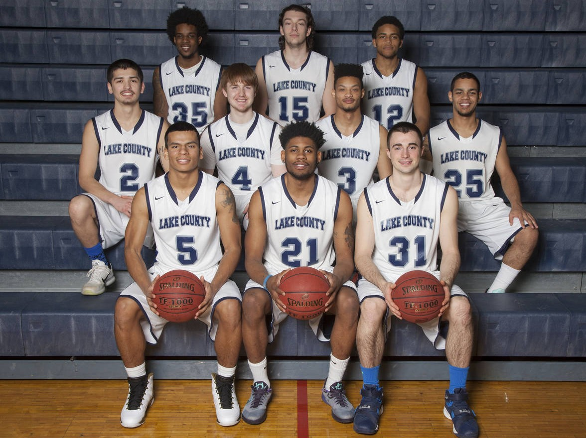 College Of Lake County 2015 16 Men S Basketball Roster