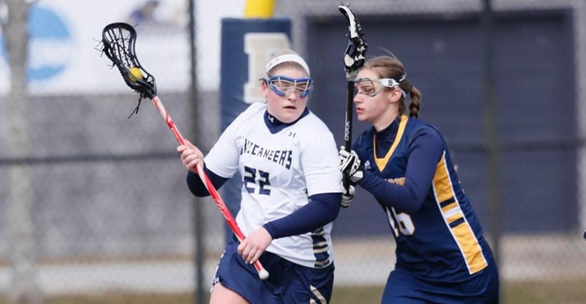 Hunt Nets 100th Career Goal As Women's Lacrosse Drops 14-5 MASCAC Decision To Worcester State