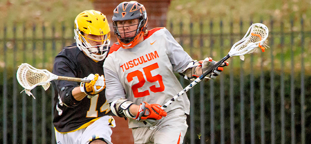 Chris Ryan scored a game-high four goals against Pfeiffer