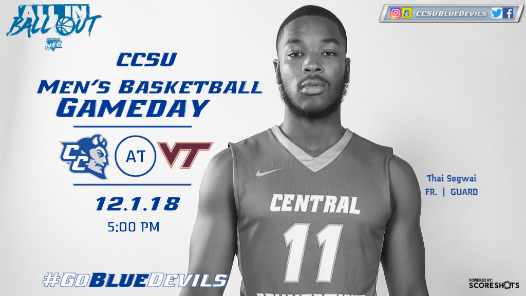Men's Basketball Takes on #13/12 Virginia Tech on Saturday