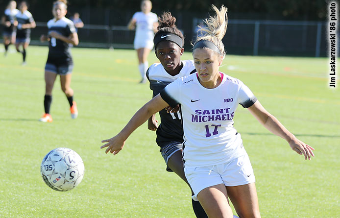 Women's Soccer's Comeback Falls Shy in 2-1 Loss to Regionally-Ranked Assumption