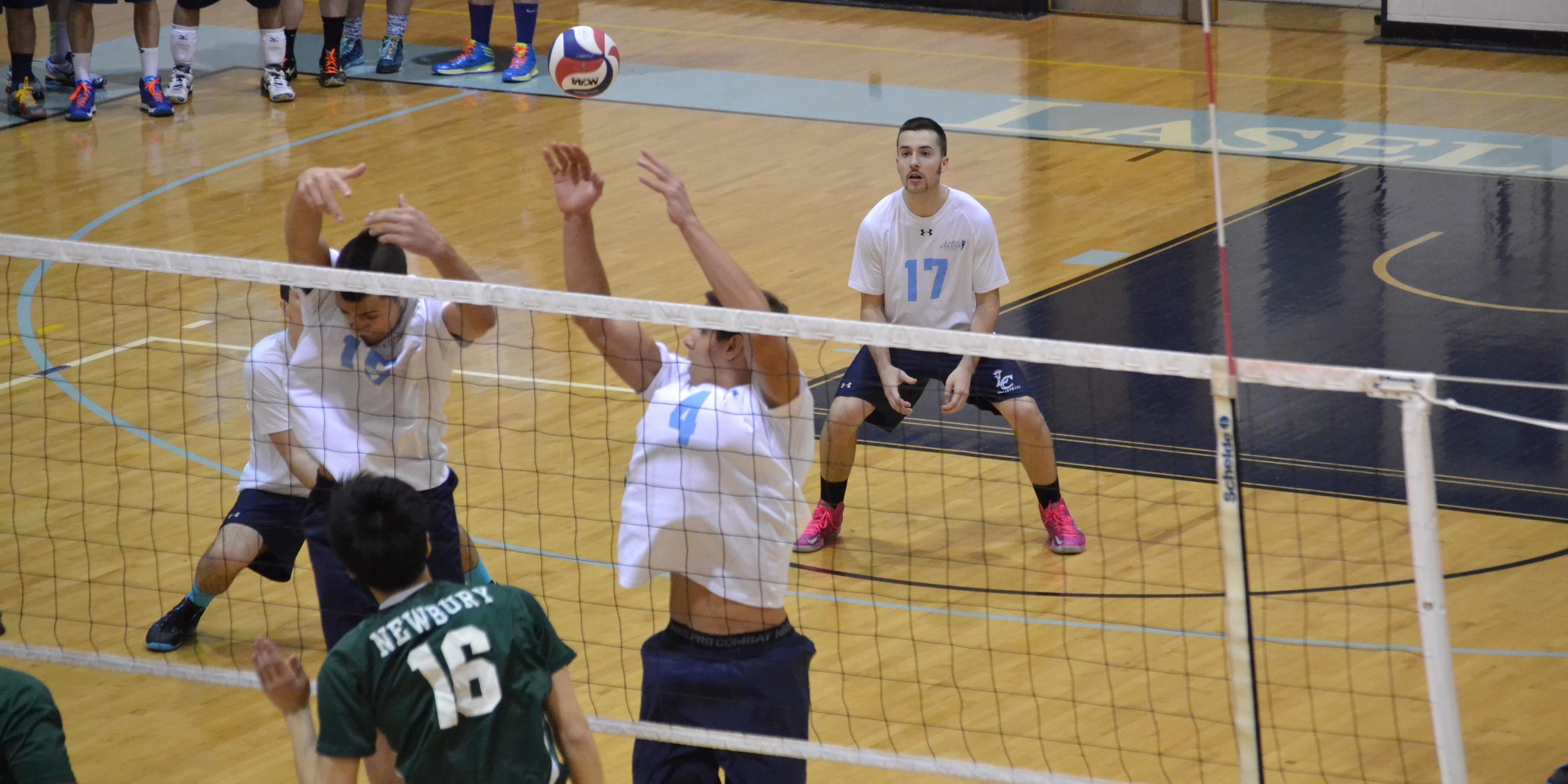 Men's Volleyball Earns 2-0 Start to the Year in JWU Tip-Off Tournament