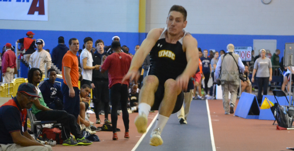 Smith Resets New School Marks as UMBC Competes at Penn State Nationals; Davis Betters PR in Pole Vault at Patriot Games