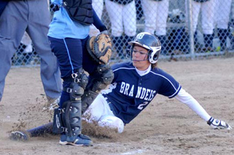 Nolan no-no helps softball snap skid, 9-0, over Case
