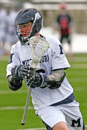 Middlebury Edged by #13 Springfield in Men's Lacrosse Action