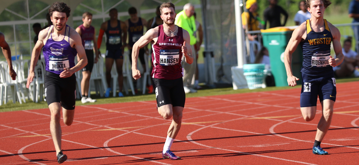 Hansen Finishes Off Season With 12th-Place Finish in 200 Meter Dash Prelims at NCAA Division III Track and Field Championships