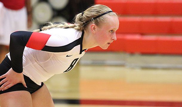 Milestones Highlight 3-1 Win For Volleyball Over Camels