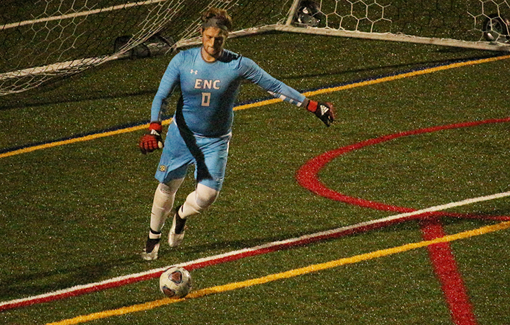 Men's Soccer Fends Off Fitchburg State, 2-1
