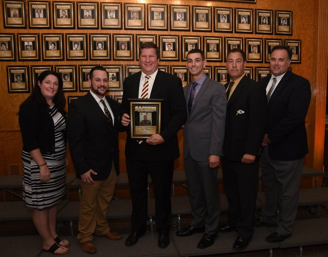 Men's Volleyball Head Coach Bill Kropp Inducted Into Sachem Athletic Hall of Fame