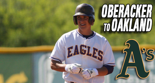 Oberacker goes to Oakland in 25th round of MLB draft