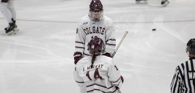 Colgate Earns Weekend Split with Win Over Yale