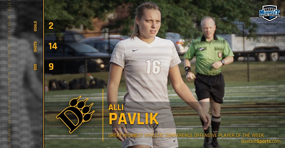 Pavlik Named Great Midwest Offensive Player Of The Week