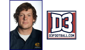 Neumann Named to D3football.com Team of the Week