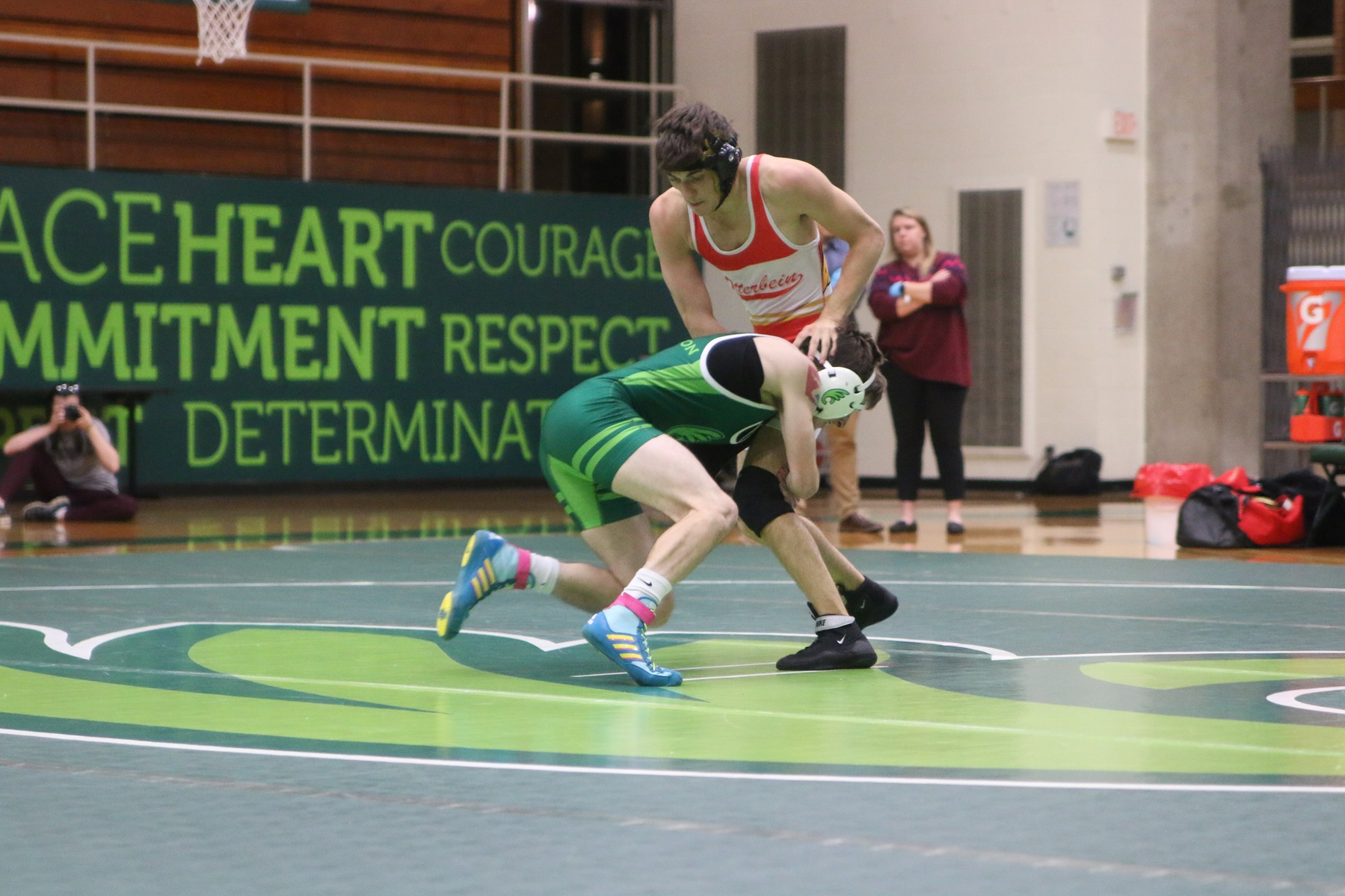 Wrestling Takes Three to OAC Duals