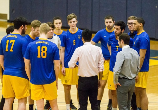 MEN'S VOLLEYBALL BOWS OUT OF GNAC TOURNEY TO RIVIER