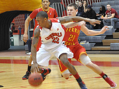 Big Second Half Leads SVSU Over Bulldog Men