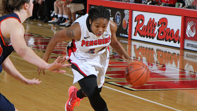 Janae Jackson scored 13 points as the Penguins beat Bucknell 69-54.
