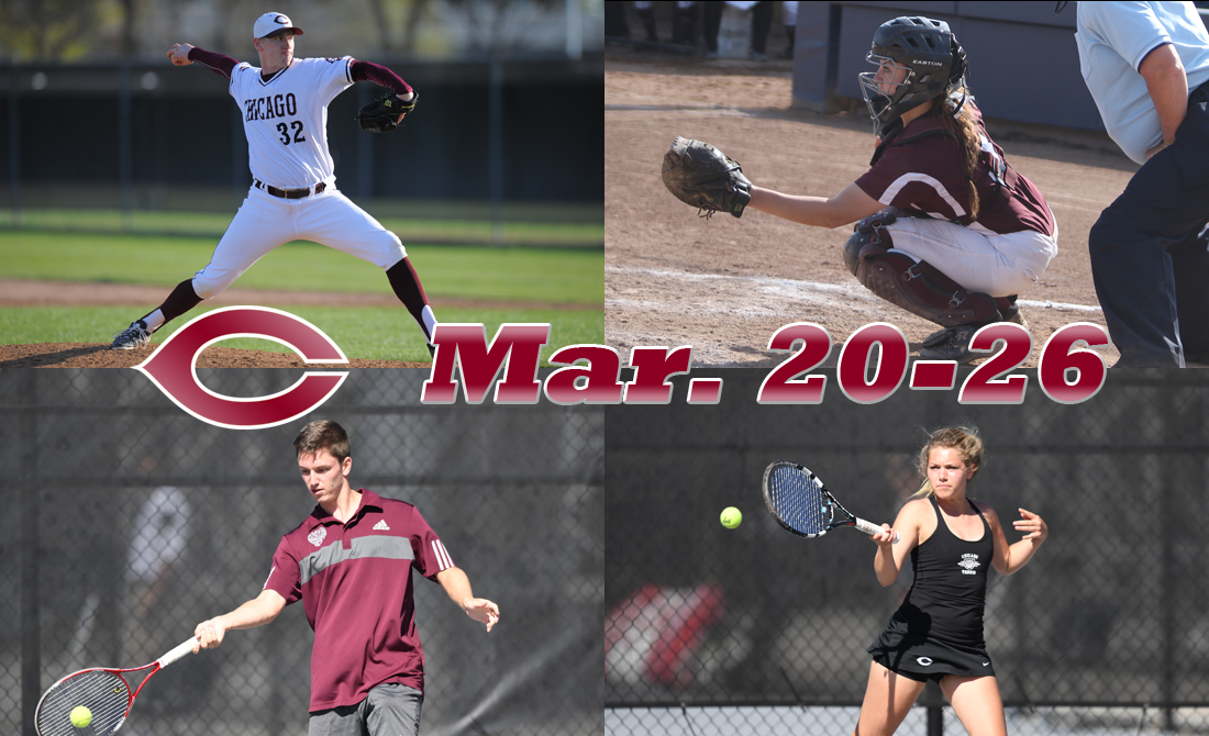 UChicago Athletics Preview: March 20-26