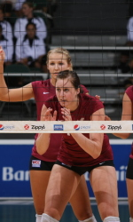 Santa Clara Volleyball Hosts Portland and Gonzaga