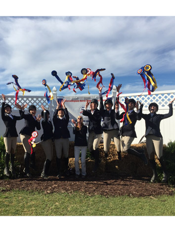 Intermont Equestrian IHSA Team Wins Zone 4 Championship Saturday