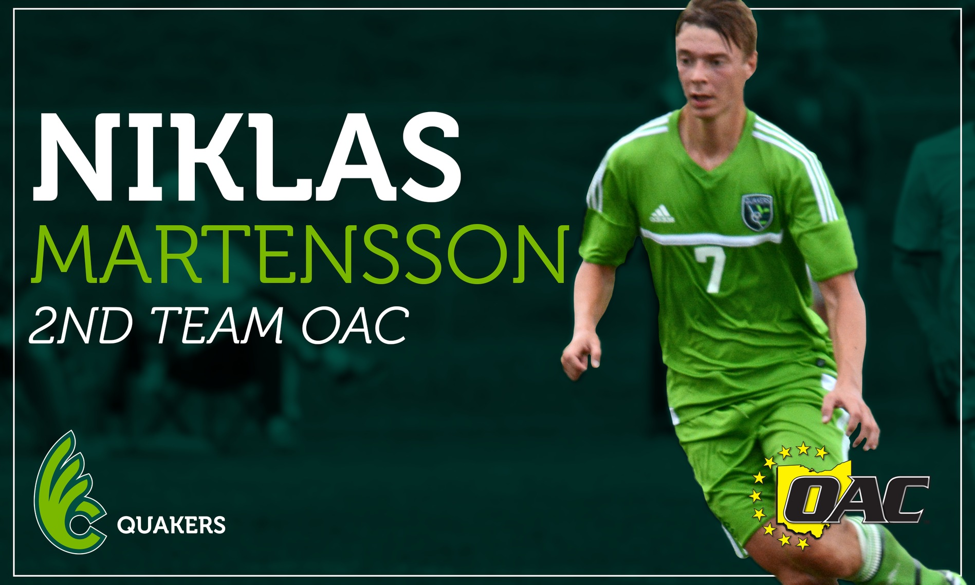 Martensson earns All-OAC honors